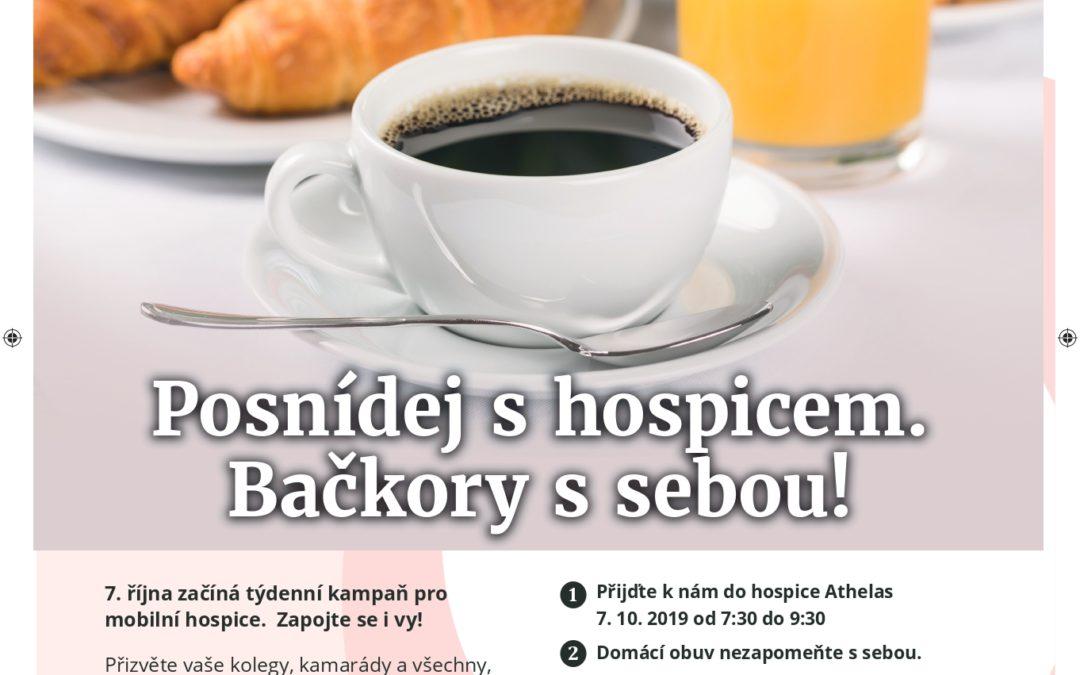 #papucovyden                Snídaně s hospicem.
