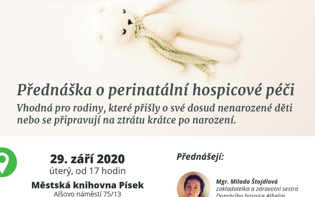 Přednáška o perinatální hospicové péči.